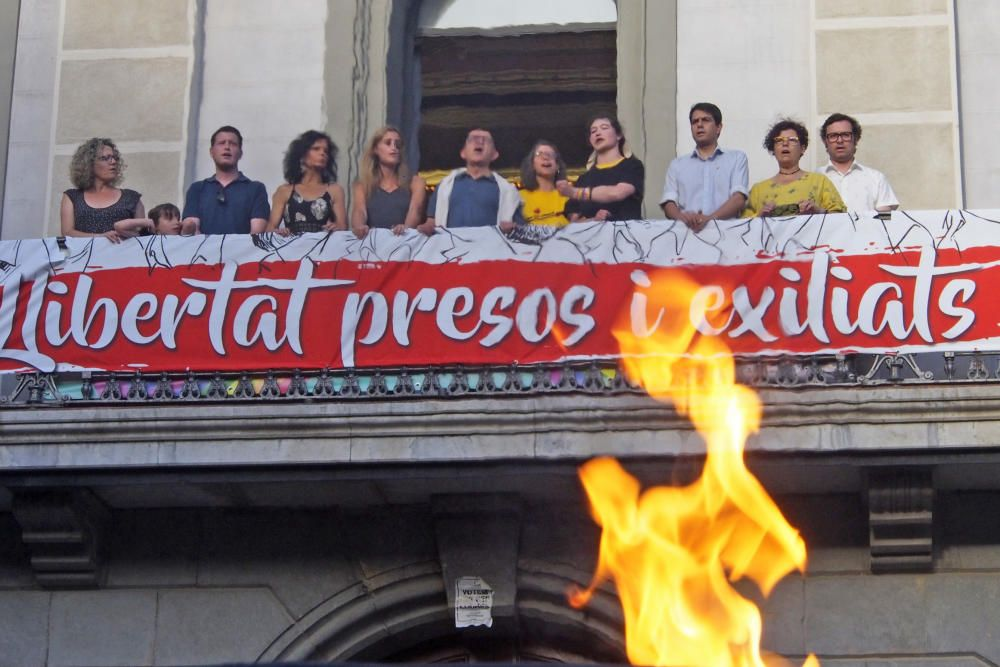 La flama de Canigó a Igualada