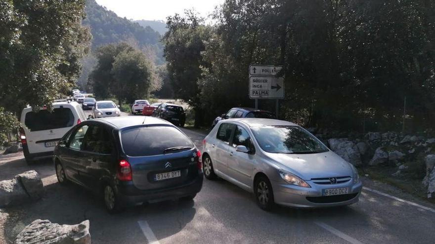 Halb Mallorca zieht es nach Lluc - Verkehrschaos in der Tramuntana