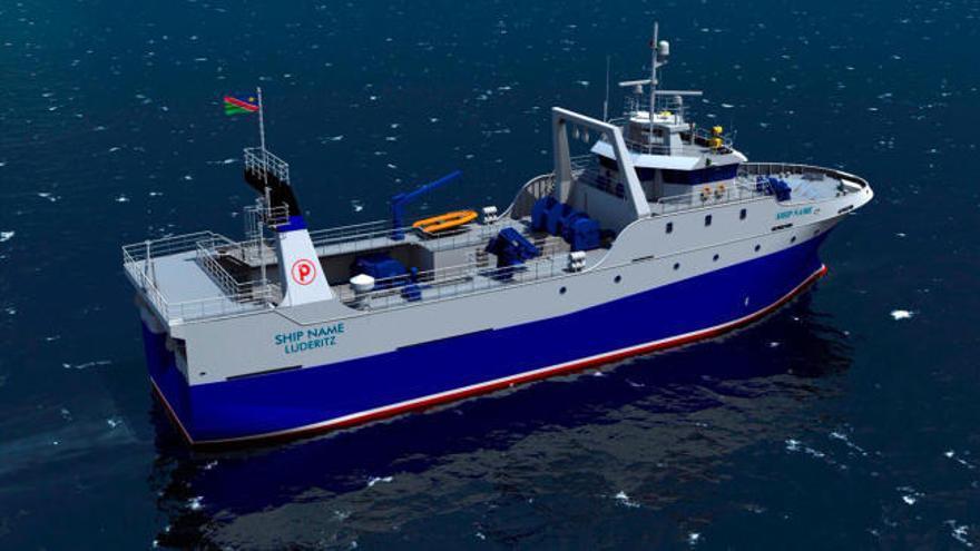 El grupo asturiano Armón construirá en Vigo y Lugo siete barcos para Pescanova