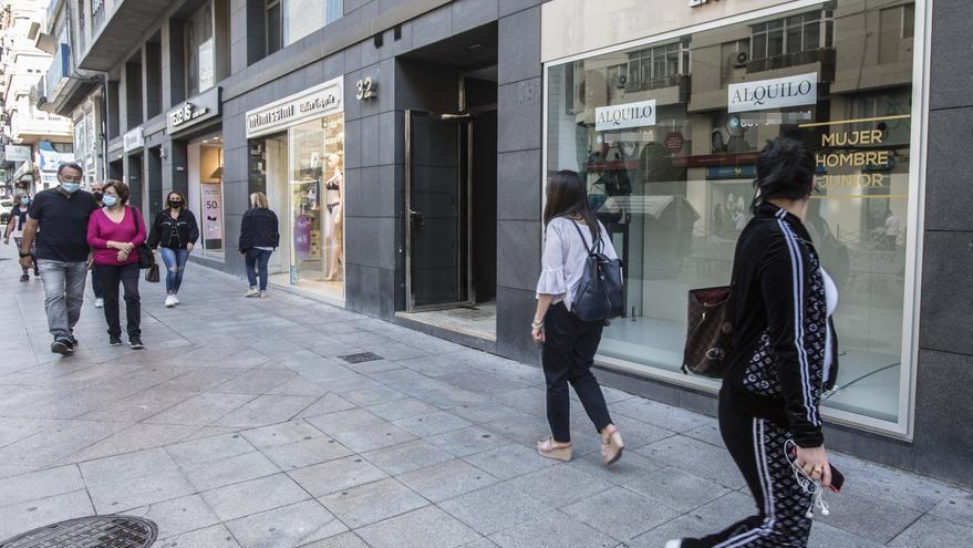 Alicante aprueba ayudas de 750 a 2.000 euros para comerciantes y hosteleros
