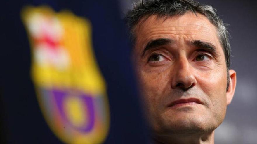 """Valverde: """"La UD nos ha empatado por un penalti invisible"""""""
