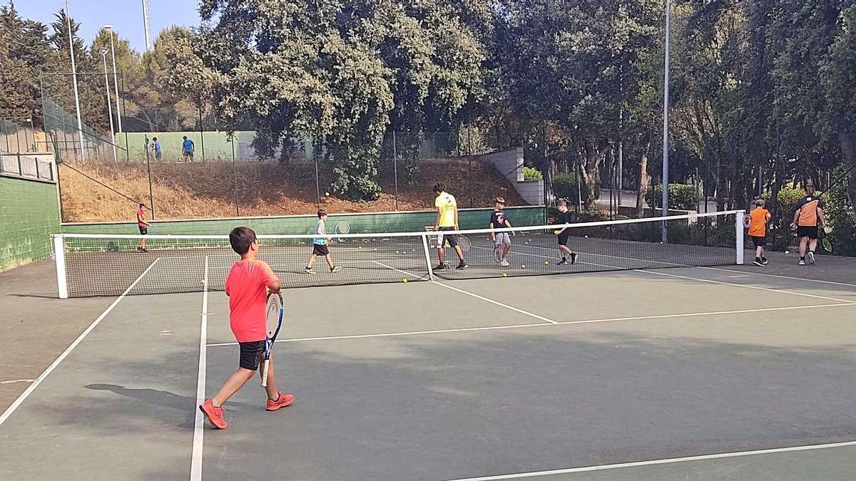 Les activitats es porten a terme a les pistes de la zona esportiva municipal   EMPORDÀ