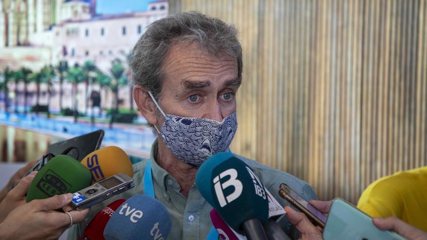 """Fernando Simón destaca en Palma la """"calidad y la seriedad"""" con la que Baleares ha gestionado la pandemia"""