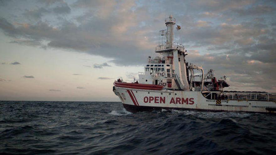La pel·lícula «Cartas mojadas» viatja amb l'Open Arms