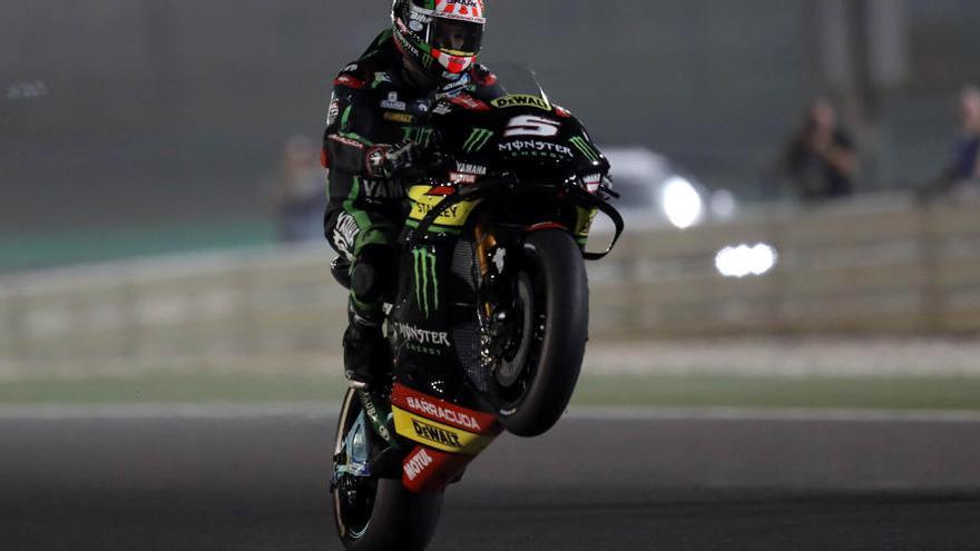 Johann Zarco dona la sorpresa en la primera graella de MotoGP