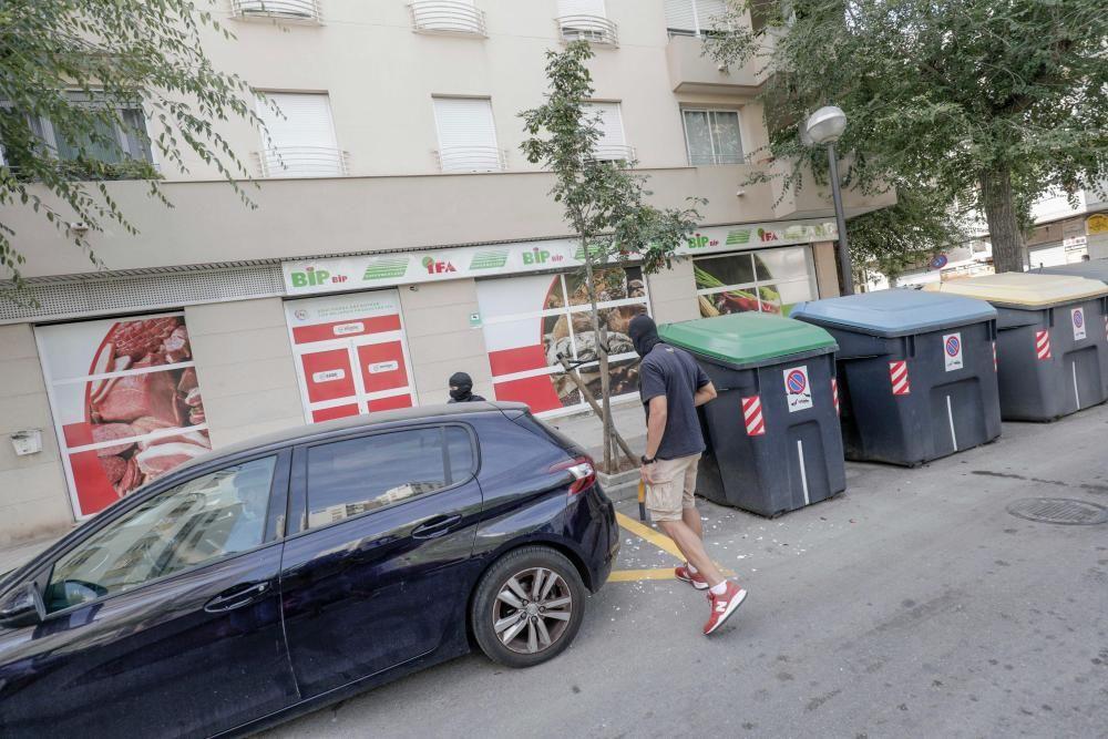 Al menos 34 detenidos en una gran operación policial contra una red de carteristas en Palma