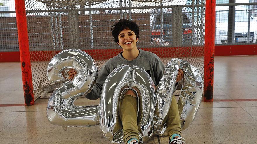 Hockey sobre patines: Elena Lolo y sus 200 sueños