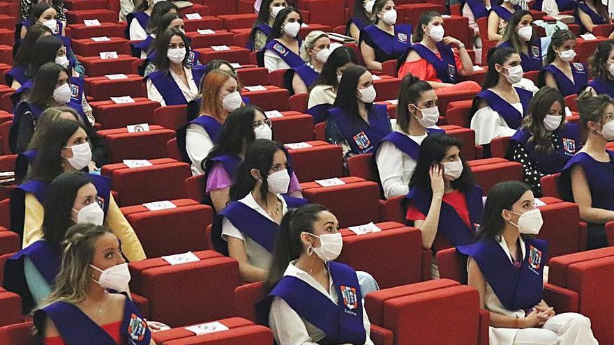 Acto de graduación de alumnos de Zalima