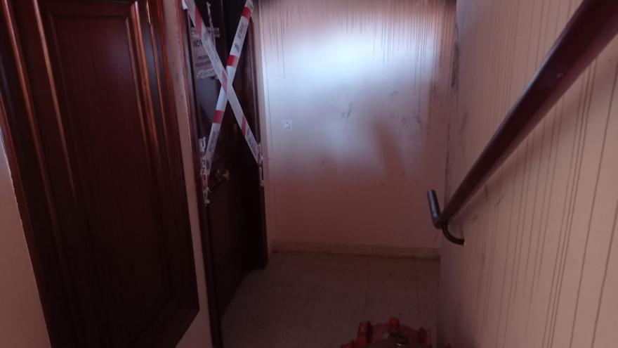 Así quedó el piso de la Pola afectado por el incendio