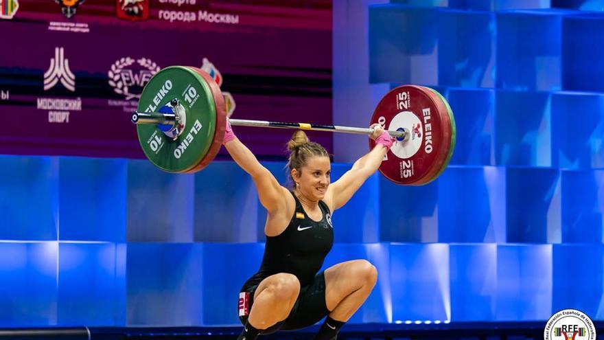 Irene Martínez roza el podio europeo