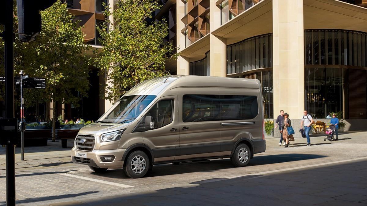 Ford desarrolla una nueva caja de cambios automática de 10 velocidades para la Transit