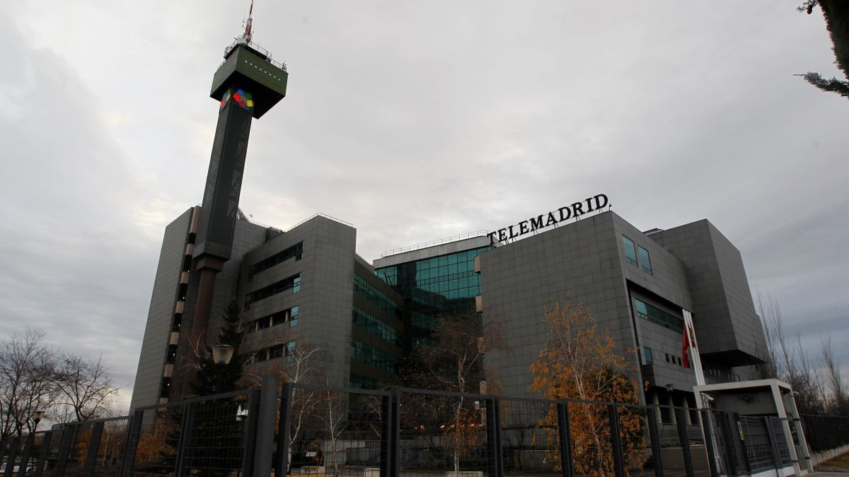 The headquarters of Telemadrid.