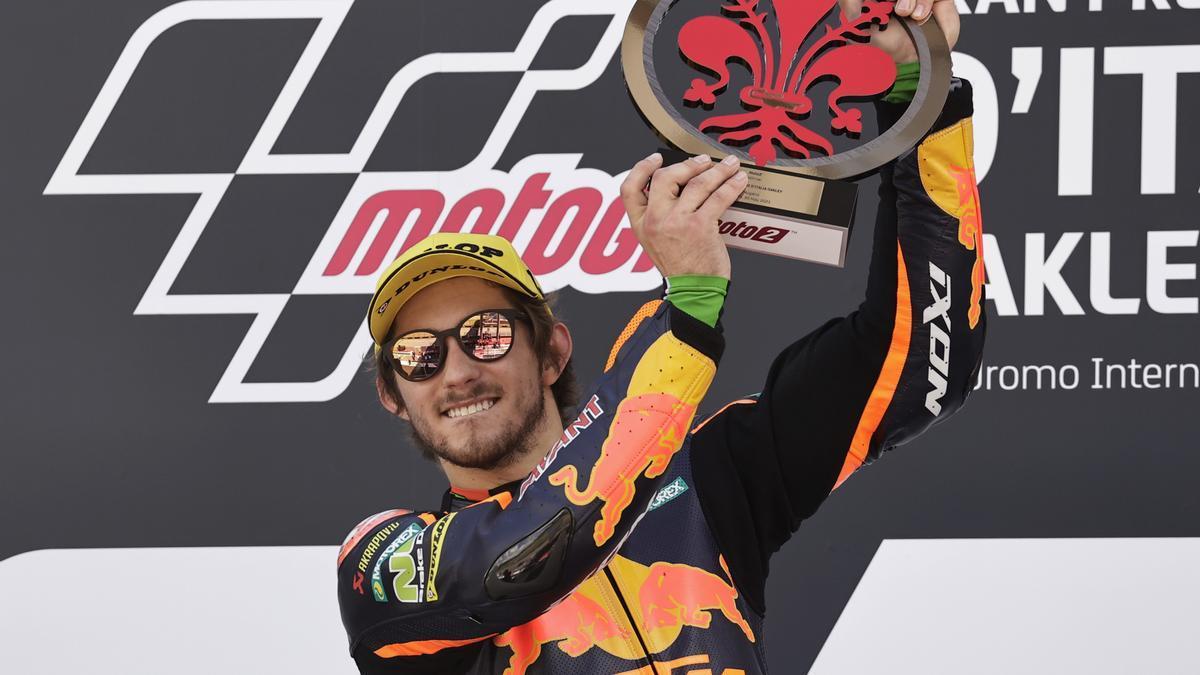El australiano Remy Gardner vence en el GP de Italia.