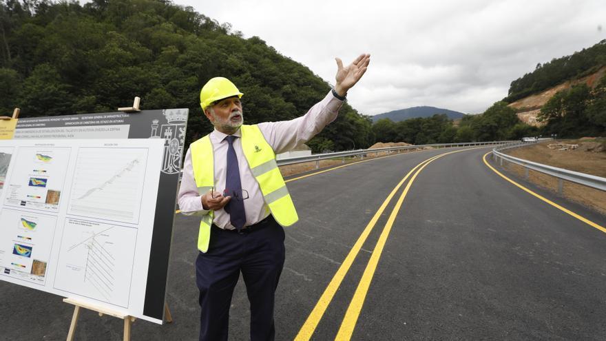 """Abre por fin el paso alternativo del """"argayón"""" y la autovía Cornellana-Salas se retrasará otro año"""