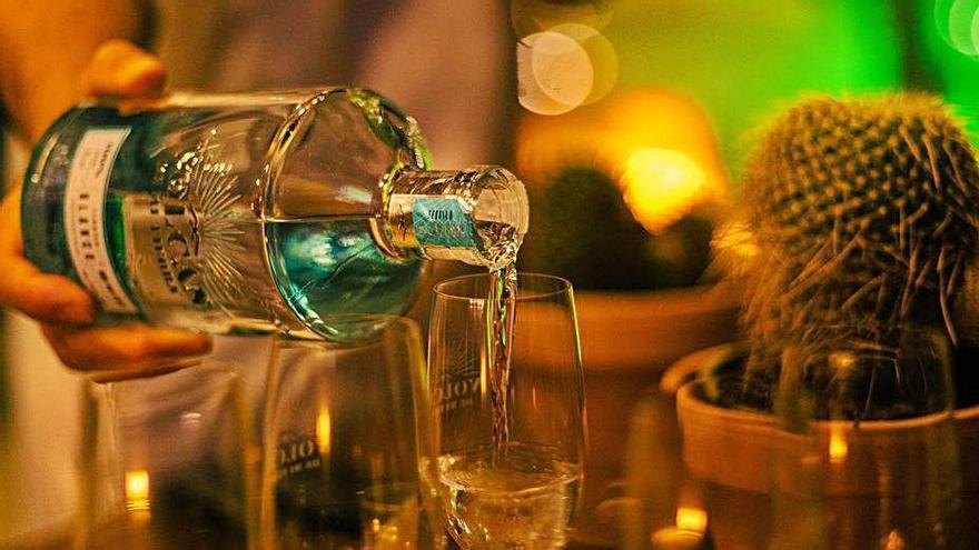 El nuevo tequila fue el protagonista de la velada