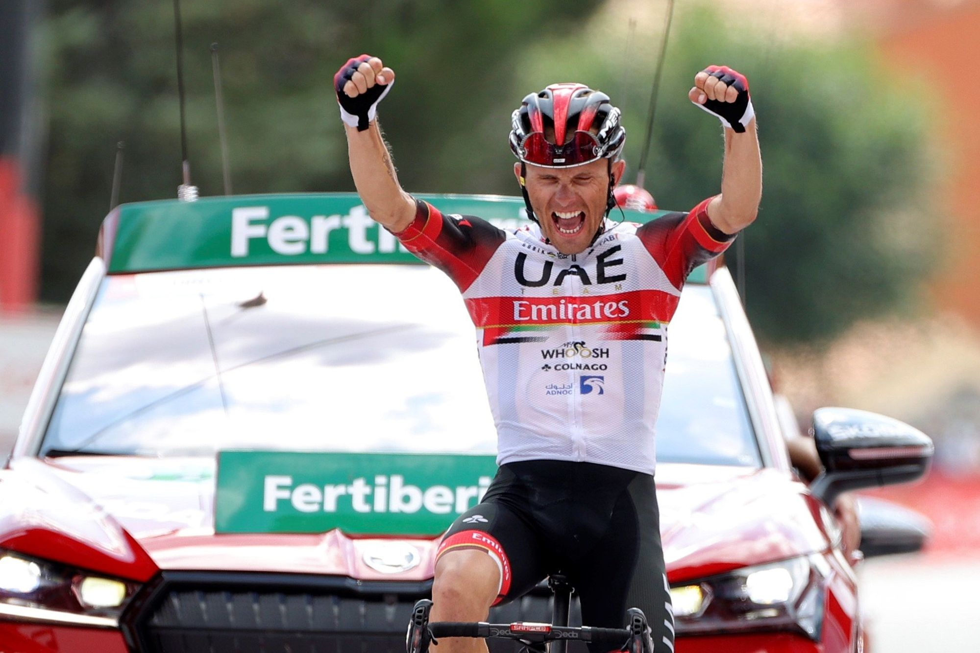 Vuelta a España, 15ª etapa: Navalmoral de la Mata-El Barraco