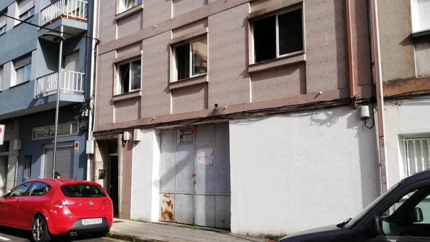Muere un hombre de 89 años en Pontevedra tras un incendio en su casa