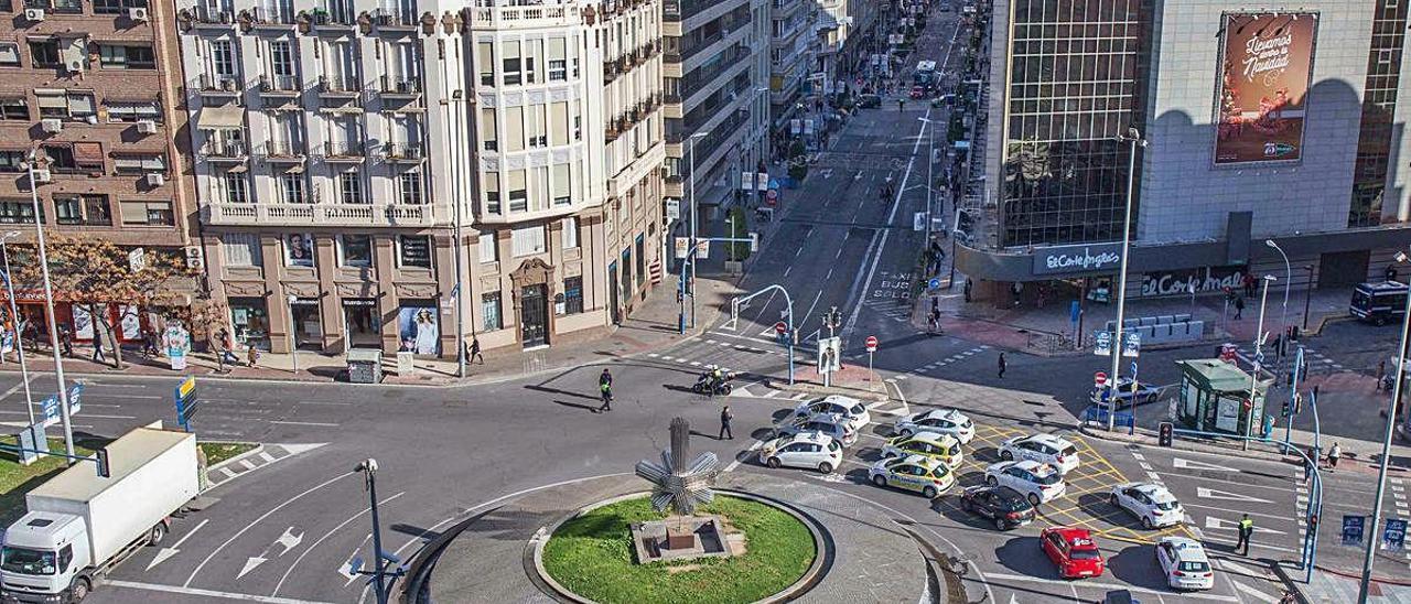 La Plaza de la Estrella está incluida en la remodelación. ISABEL RAMÓN