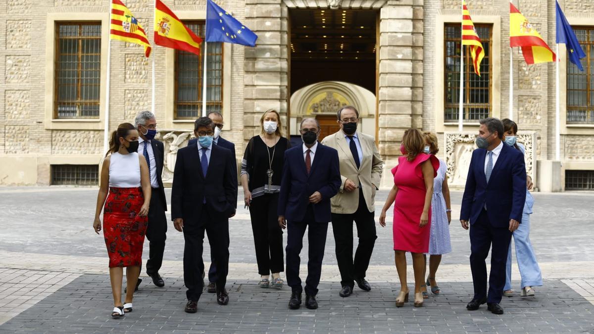 El Gobierno de Aragón, esta semana
