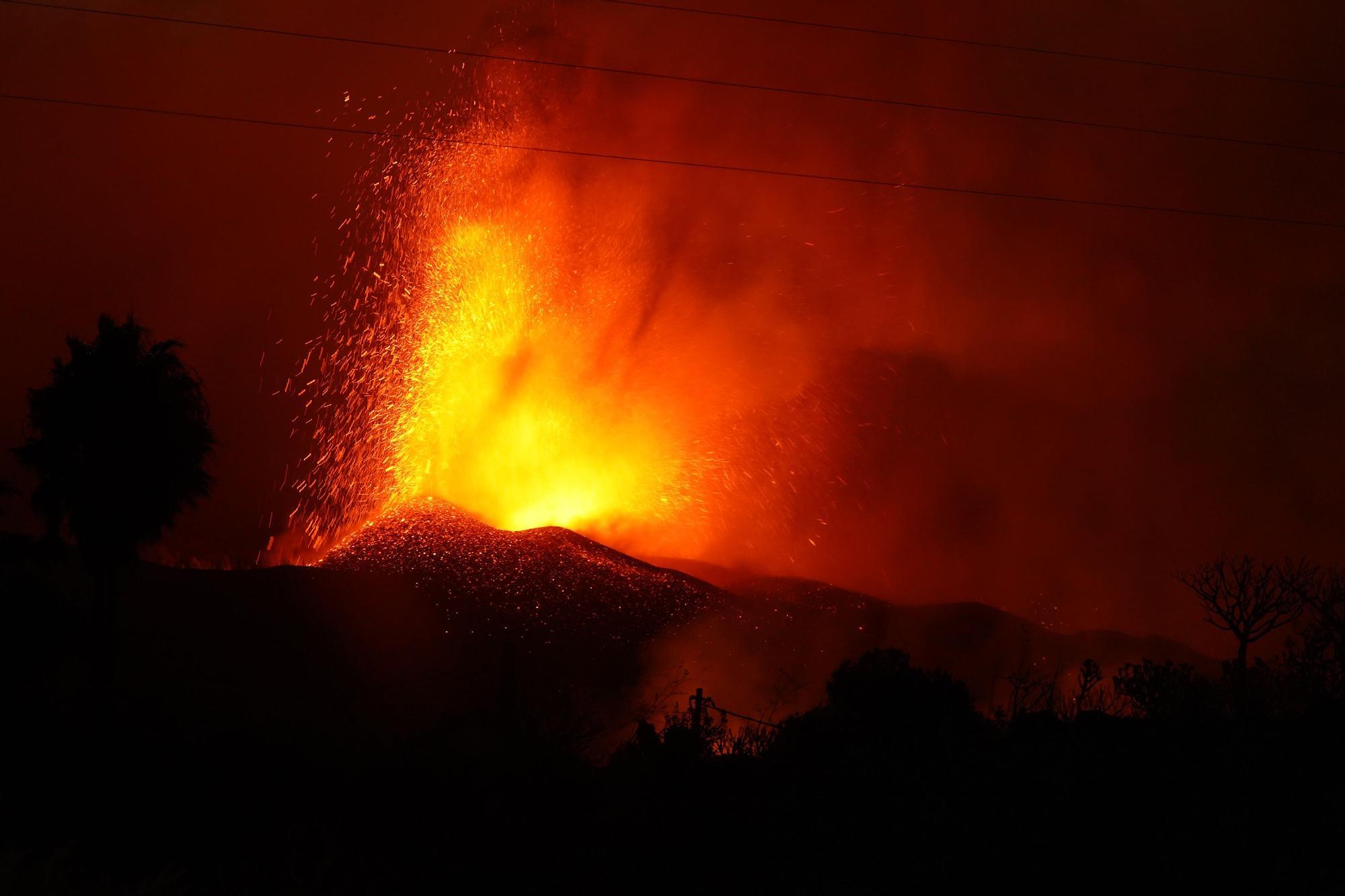Las imágenes de la erupción volcánica en La Palma y sus devastadoras consecuencias