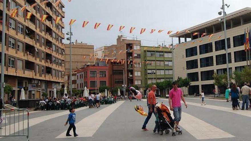 Herido un niño de 9 años al ser atropellado en la plaza de España de Almassora