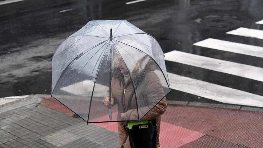 El nuevo año se inicia en Asturias con más frío y más húmedo de lo habitual