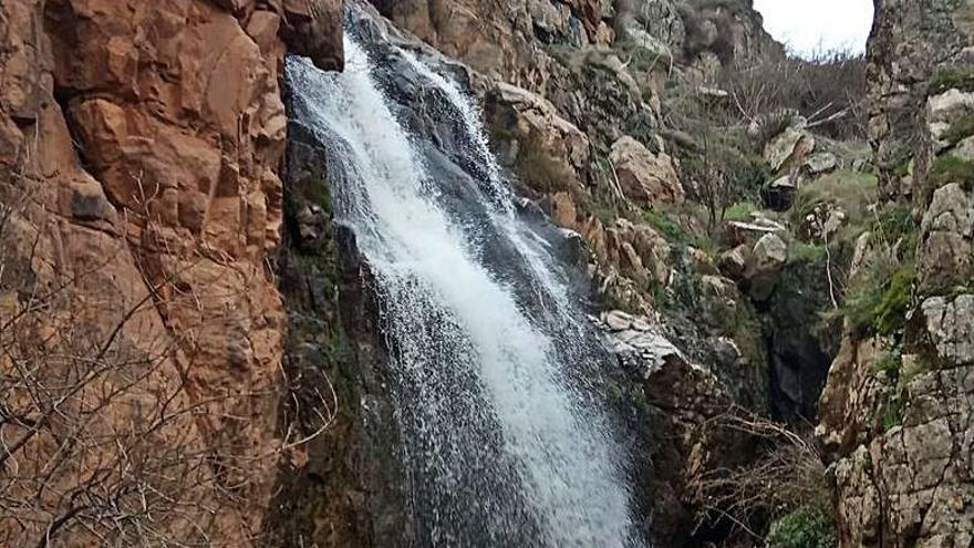Sayago recobra el espectáculo de las cascadas