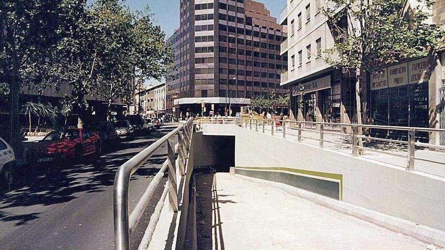 Construcción del túnel de avenidas: La conexión con las calles Nuredduna  y Aragó