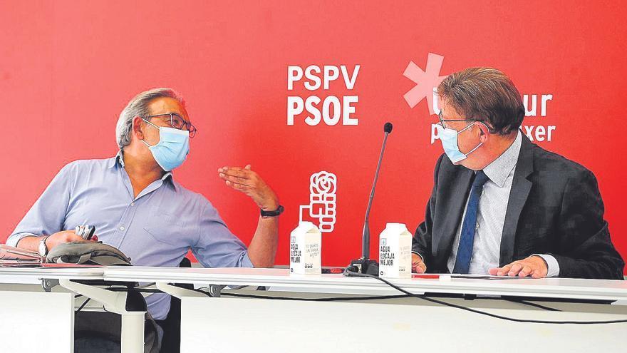 El PSPV propone un calendario de congresos que no quiere el 'abalismo'