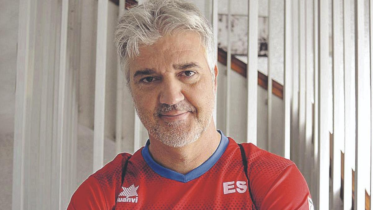 José Luis Guadalupe, máximo responsable del CD Midayu.
