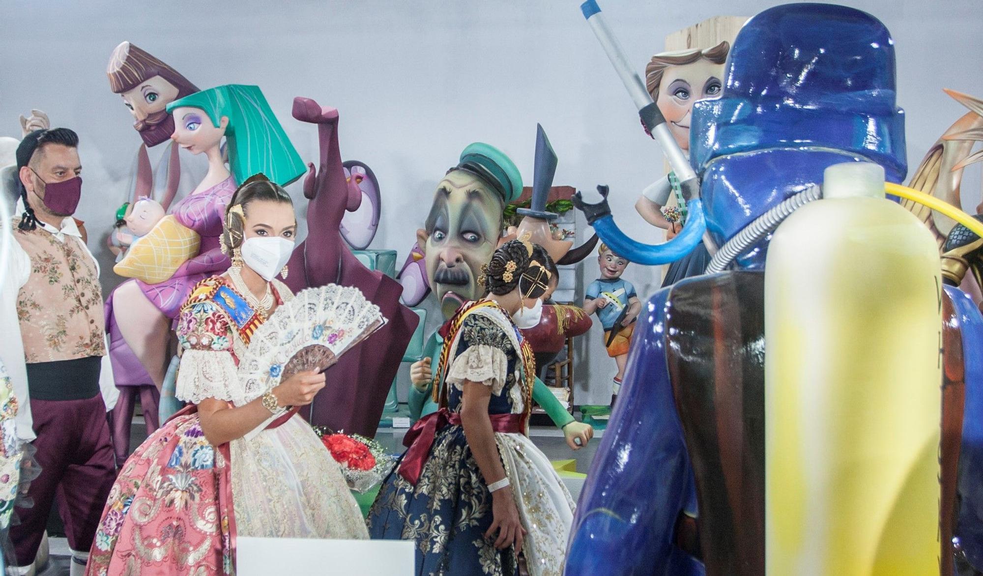 Inauguración de la Exposición del Ninot de las Fallas 2021