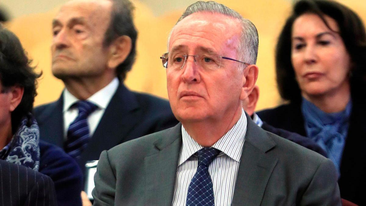 Fernández de Sousa en el juicio en la Audiencia Nacional