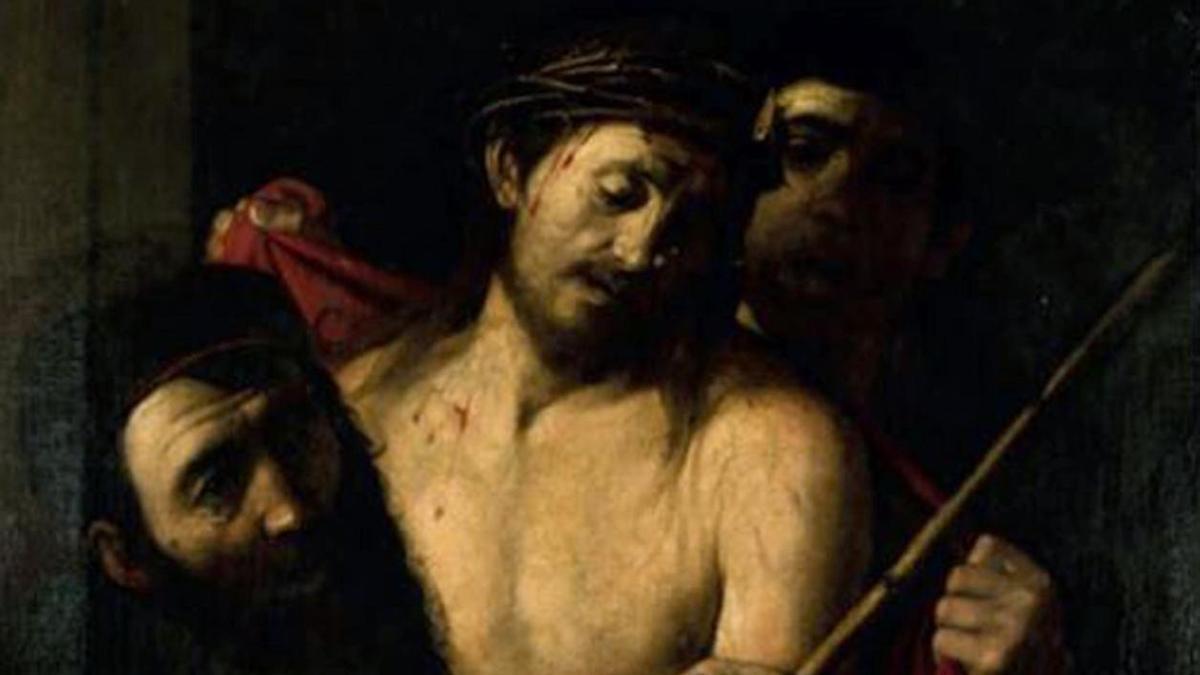 El Ecce Homo atribuido a Caravaggio.