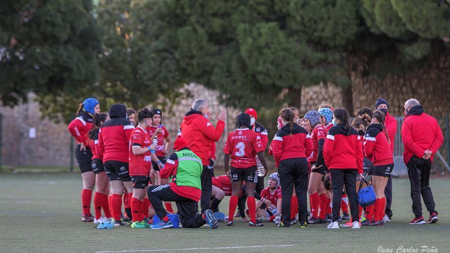 El CAU femenino jugará esta temporada en la DHB del rugby español