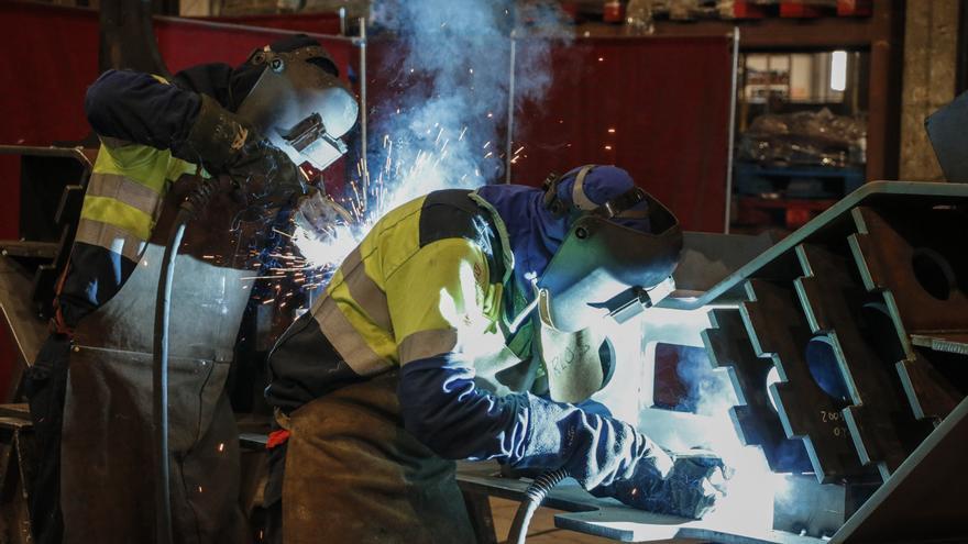 El metal asturiano sale de la crisis lanzado: con 5.200 empleos más que antes del covid
