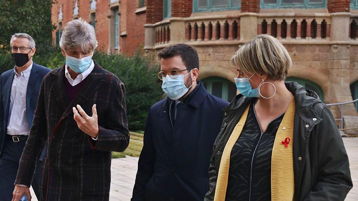 El Govern català diu estar preparat per vacunar contra la covid ja el gener