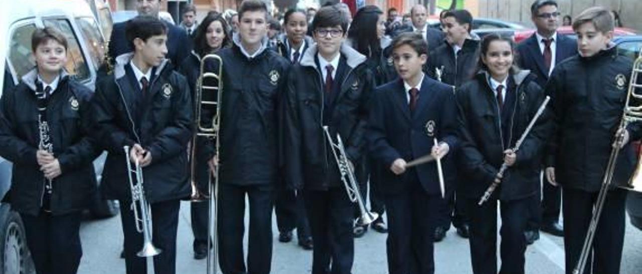 La Agrupació Musical celebra Santa Cecilia con los nuevos músicos