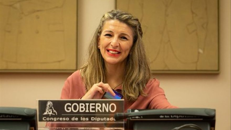 Yolanda Díaz reitera que el govern espanyol derogarà la reforma laboral del PP aquest any