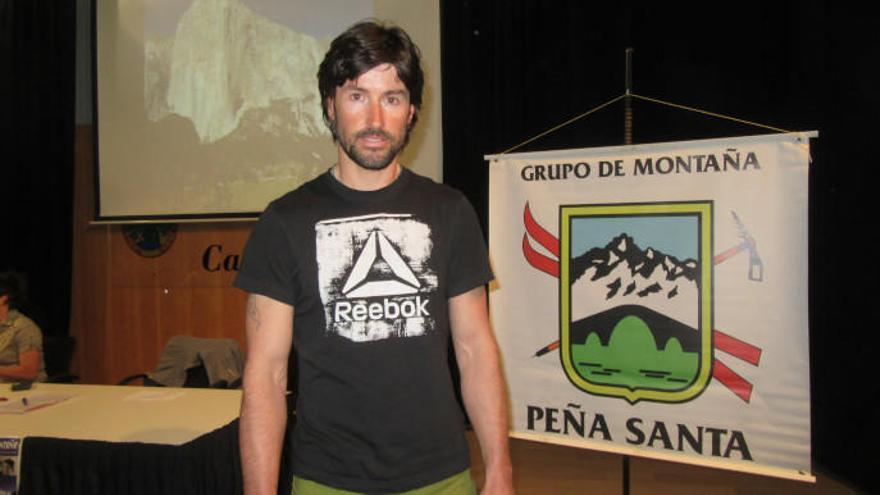 """Sonia Casas hablará hoy sobre """"Alpinismo en femenino"""" en las XXXIII Jornadas de Montaña de Cangas de Onis"""