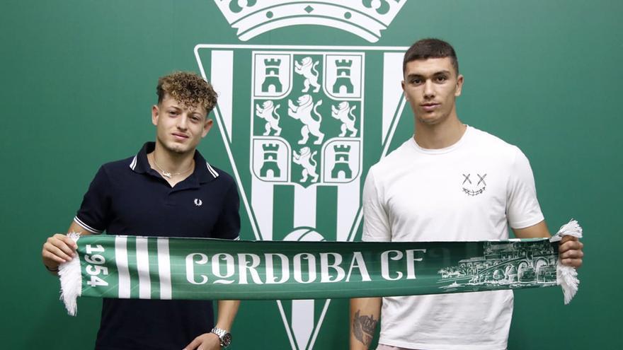 Adrián Fuentes y Simo, fuerza y fantasía en el Córdoba CF