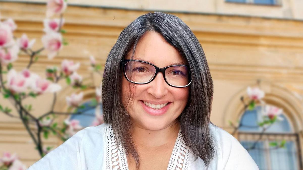 Judit Santos, psicóloga e fundadora de 'Patios Vivos Miudiño'.