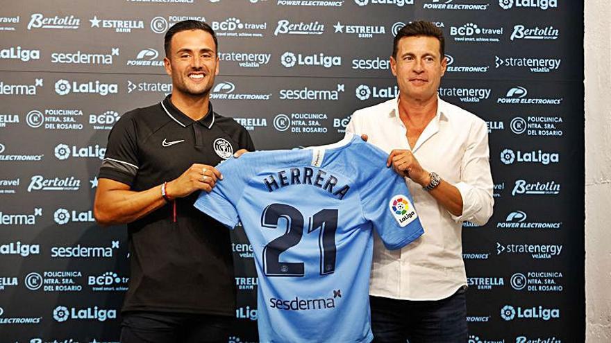 Cristian Herrera, un atacante muy polivalente y con «hambre» de gol
