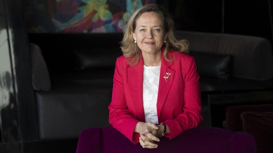 Entrevista con Nadia Calviño , vicepresidenta segunda y ministra de Asuntos Económicos y Transformación Digital