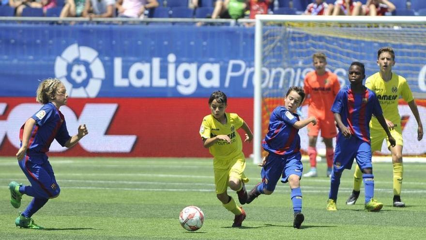 El Villarreal se queda con la miel en los labios en LaLiga Promises