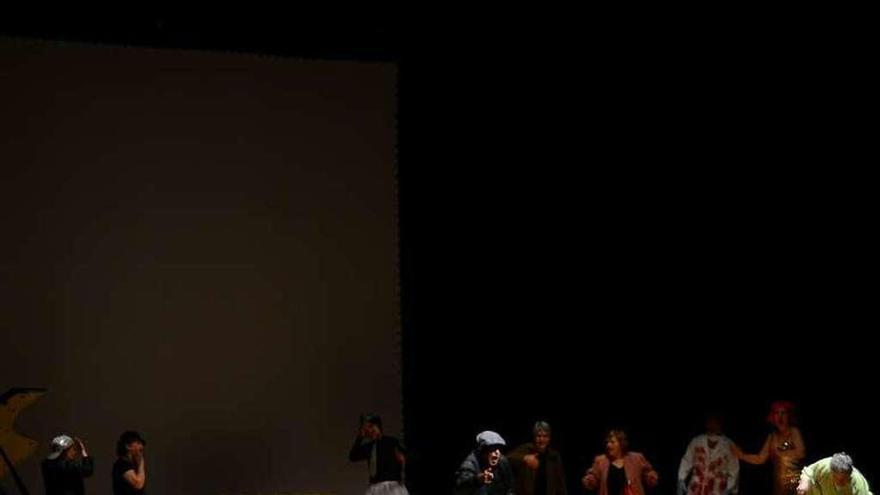 Final de fiesta del Ciclo de Teatro Afeccionado