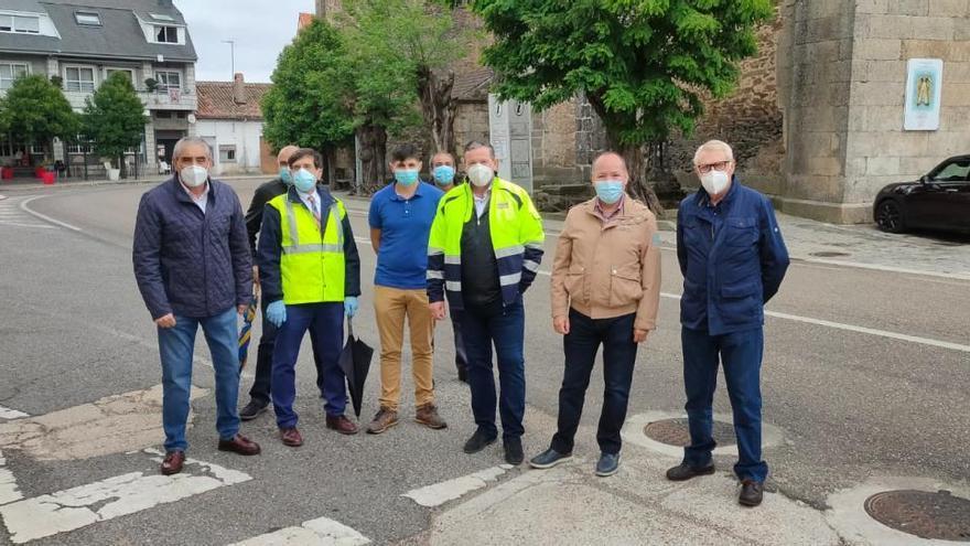 Nueva capa de rodadura para la carretera entre Alcañices y Bercianos de Aliste