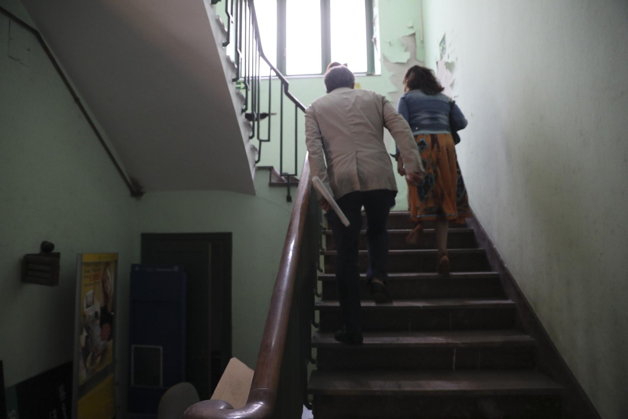 LA NUEVA ESPAÑA entra en la sede del futuro conservatorio de Avilés.