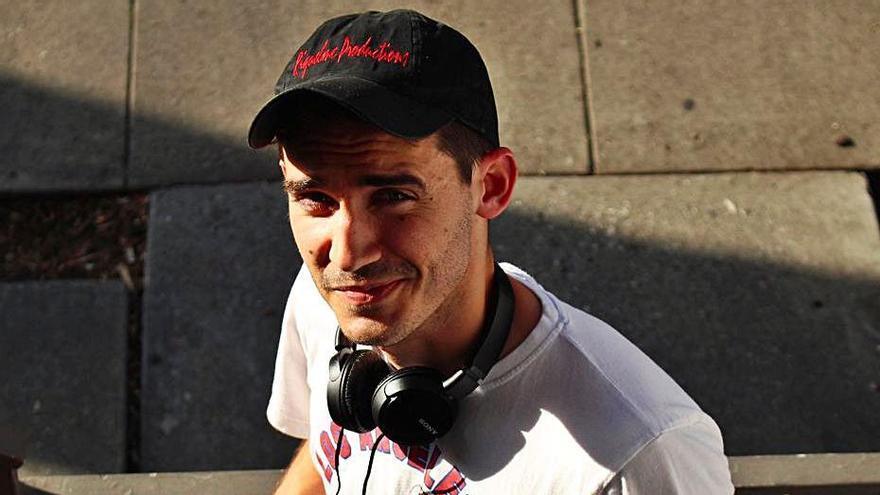 El cineasta de Orihuela Pablo Riquelme.