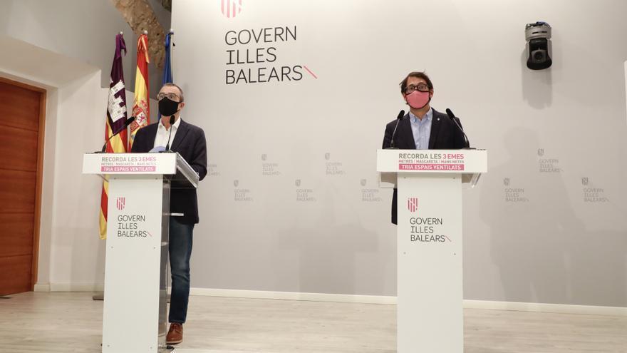 El Govern culpa a Díaz Ayuso del veto del Reino Unido para viajar a Baleares