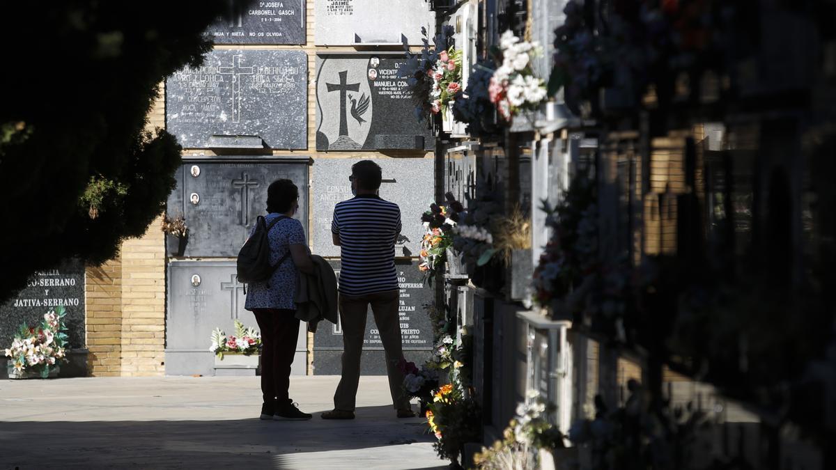 El Cementerio General tiene decenas de miles de enterramientos